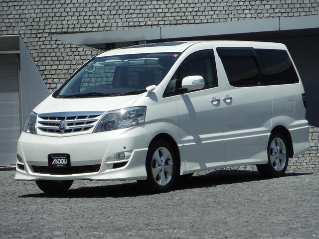 トヨタ アルファードV MS リミテッド メーカーHDDナビ ツインムーンルーフ