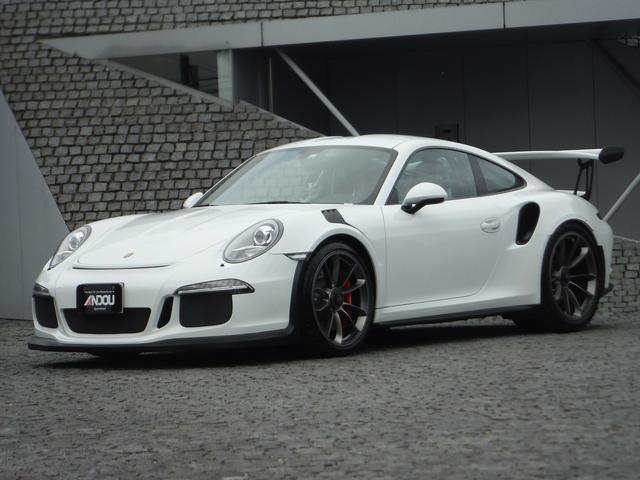 ポルシェ 911 911GT3 クラブスポーツ スポーツクロノPKG フロントリフティングシステム スポーツエグゾースト 鍛造20&21インチアルミ レッドキャリパー ロールバー カーボンインテリア&バケットシート&ボンネット&エンジンフード