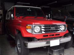ランドクルーザー70LXーFRP 4WD