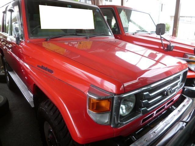 トヨタ LX ディーゼル 4WD 5MT リフトアップ エアコン