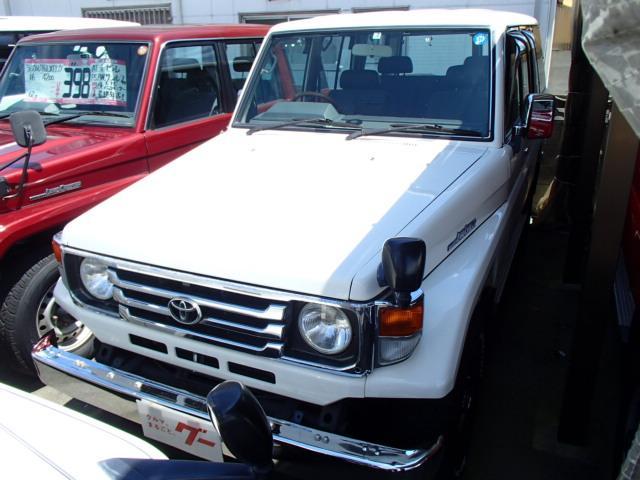 トヨタ LXロング ディーゼル 4WD 社外アルミHDDナビフルセグ