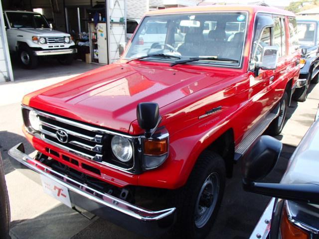 トヨタ LXロング ディーゼル 4WD 記録簿