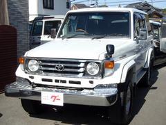 ランドクルーザー70ZXロング 4WD ディーゼル メモリーナビ ワンセグ