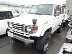 ランドクルーザー70ZX ディーゼル 4WD ロング リフトアップ サンルーフ