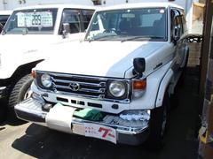 ランドクルーザー70ZX ロング ディーゼル 4WD o/pデフロック ウインチ電動 メモリーナビ/フルセグ キーレス サンルーフ ETC