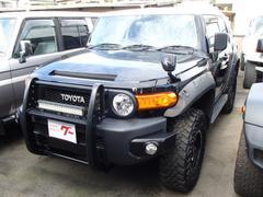 FJクルーザーブラックカラーパッケージ 4WD SDナビ フルセグ バックカメラ ETC 社外アルミ リフトUP 社外バンパー キーレス
