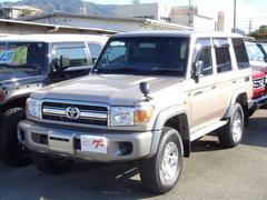 ランドクルーザー70バン 30thアニバーサリー Wエアバッグ ウィンチ キーレス デフロック ABS リアヒーター