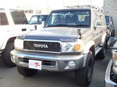 ランドクルーザー70バン 30thアニバーサリー 5速MT 4WD ワンオーナー 社外ナビ TV バックモニター デフロック 社外アルミ ABS Wエアバッグ