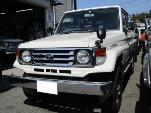 トヨタ ランドクルーザー70 LX ディーゼル 4WD 5速MT