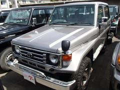 ランドクルーザー70LX メタル 5速MT ディーゼル 4WD サンルーフ 社外アルミ CD キーレス