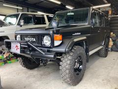 ランドクルーザー70ZX 4WD 255/85/R16インチホイール ディーゼル サンルーフ ETC CDオーディオ MT5速