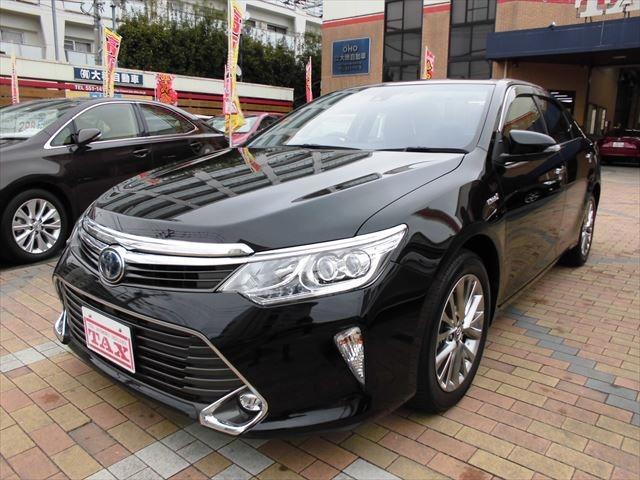 トヨタ ハイブリッド Gパッケージ・プレミアムブラック TSS付き!