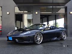 フェラーリ 360F1スパイダーコーンズD車クライスG可変マフラー白革Sアルミ