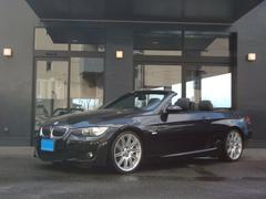 BMW335iカブリオレ MスポーツP 7速DTC 左H 黒本革S