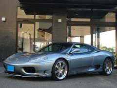 フェラーリ 360モデナF1 左ハンドルD車フルエアロ社外19インチAW