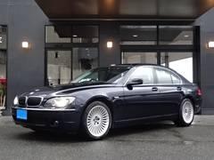 BMW740i最終型黒本革Sサンルーフ正規D車19インチAWETC