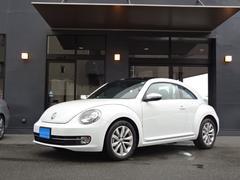 VW ザ・ビートルデザインレザーPKG禁煙車サンルーフ黒本革SDナビ地デジ