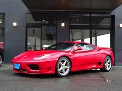 フェラーリ 360モデナF1Fエアロ黒レザMSRマフラーRスポクラッチ交換済
