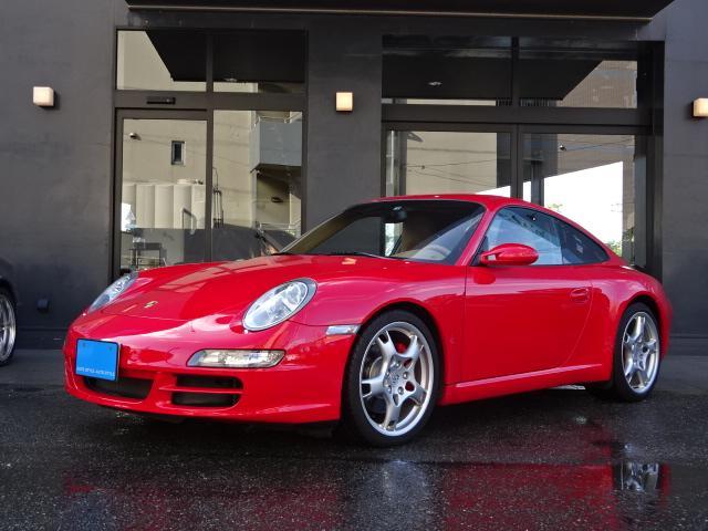 ポルシェ 911カレラS D車左 スポーツクロノP SR ベージュ革
