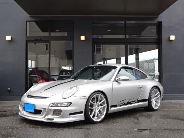 ポルシェ 911カレラ D車左H GT3タイプエアロ BOSE SR