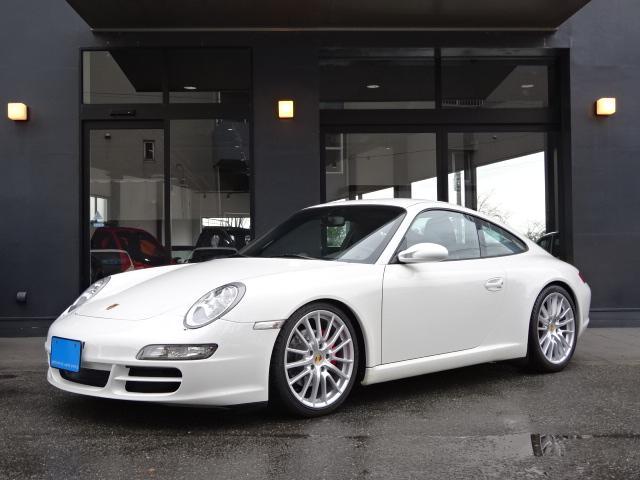 ポルシェ 911 911カレラ D車左H 6速MT スポーツクロノP 黒革S