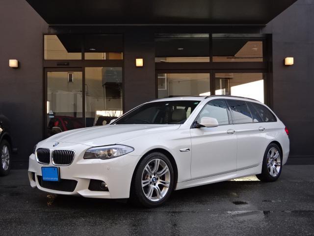BMW 523iツーリングMスポーツPKG ベージュ革 パノラマR