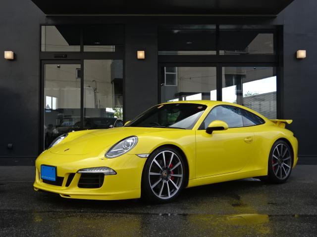 ポルシェ 911カレラ 正規ディーラー車 右H カップエアロ スポーツエグゾースト