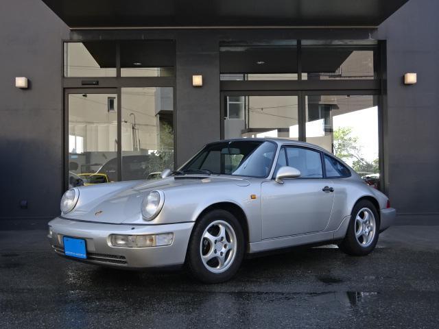 ポルシェ 911カレラ2 ディーラー車 右ハンドル グレー革 MOMOステアリング ETC HID