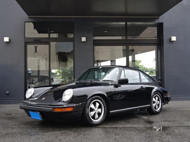 ポルシェ 911 911S レストア車両 黒革シート 5速MT 15インチAW