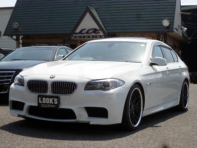 BMW 523i ハイラインパッケージ M5仕様・新品AW タイヤ