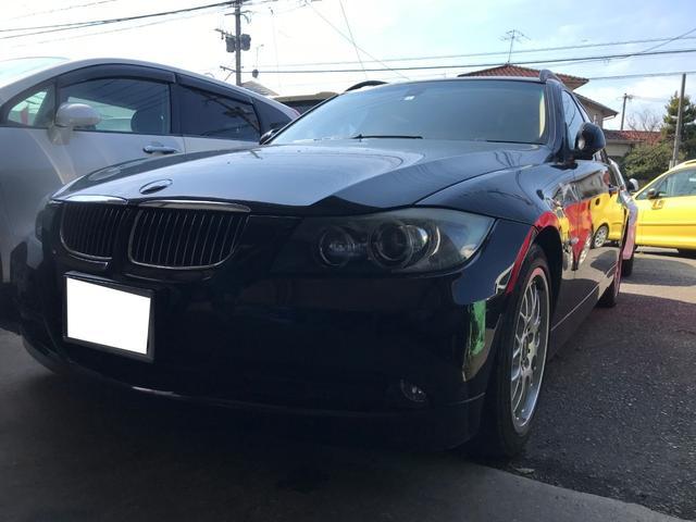 BMW 320iツーリング HDDナビ  アルミ