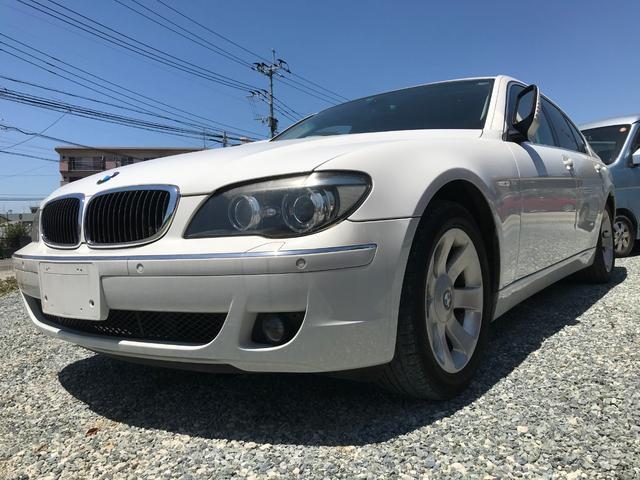 BMW 7シリーズ 740i ETC サンルーフ HDDナビ バックカメラ