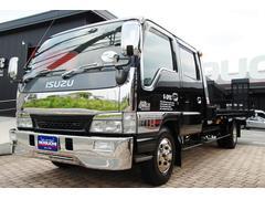 エルフトラックWキャブ7人乗り積載車新品フルカスタム セーフティーローダー