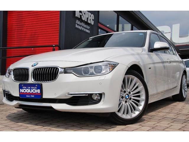 BMW アクティブハイブリッド3ラグジュアリー黒革 後付42万円以上