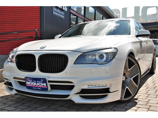 BMW 7シリーズ 740i WALD仕様フルカスタム・純正オプション&後付けカスタムパーツ総額230万円以上付き!メーカーオプション:プラスパッケージ&コンフォートパッケージ付き!本革・サンルーフ・HDDナビ!メンテナンス多数