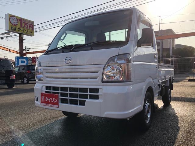 マツダ KC農繁 エアコン パワステ デフロック ワンオーナー 高速2段切替4WD 作業灯 ABS