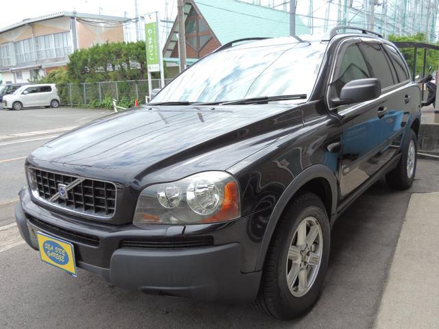 ボルボ AWD ハーフレザーシート 4WD オンダッシュナビ