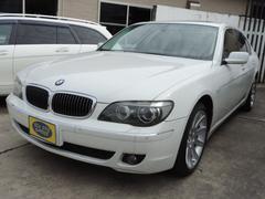 BMW740i 黒革Pシート サンルーフ ナビTV HID