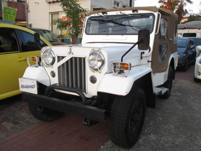 三菱 キャンバストップ ディーゼルターボ 4WD パワステ