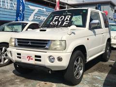 パジェロミニアクティブフィールドエディション 4WD ETC 背面タイヤ