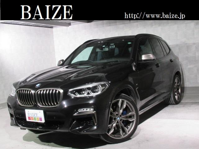 BMW M40d 当社買取・1オーナ・禁煙・セレクトPKG・ヘッドアップD・インテリジェントセーフティ・パノラマルーフ・h/kサウンド・PWゲート・黒本革シート全席ヒートヒータ・全周囲カメラ・キャリパー青塗装