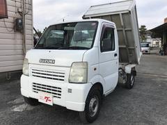キャリイトラック清掃ダンプ 荷台強化フロア 4WD 走行5.7万キロ