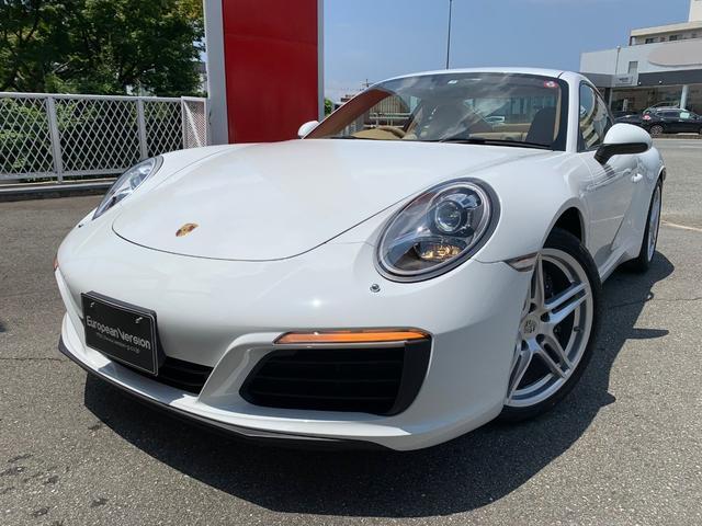 ポルシェ 911 911カレラ D車 スポーツクロノ ベージュレザーシート
