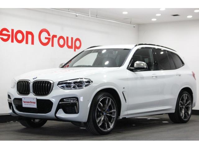 BMW X3 M40d ディーラー車 ワンオーナー ブラックレザーパワーシート シートヒーター サイドボルスター 純正ナビTV360°カメラ ヘッドアップディスプレイ インテリジェントセーフティ 純正21インチAW ドラレコ