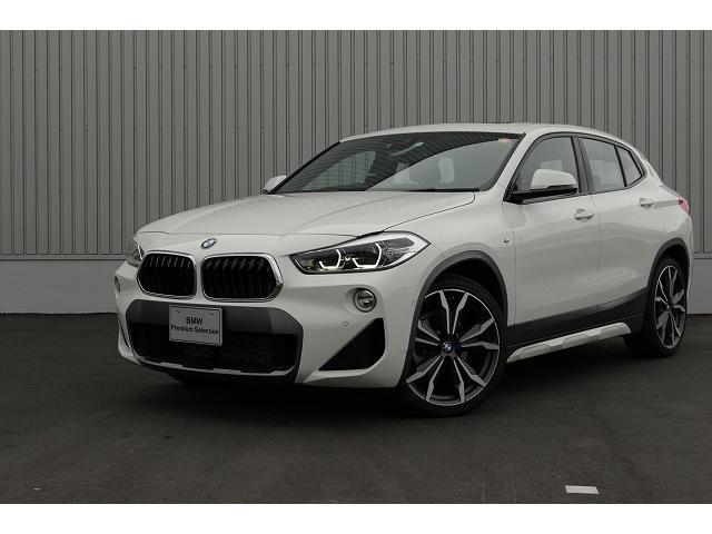 BMW X2 パノラマサンルーフ モカブラウンレザーインテリア ETC ガラスサンルーフ 衝突軽減ブレーキ モカブラウンレザーインテリア 電動リアゲート バックカメラ