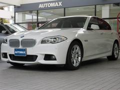 BMWアクティブハイブリッド5 Mスポーツ 右H サンルーフ 黒革