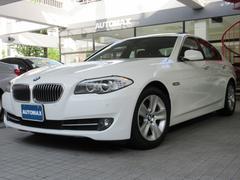 BMW528i 1オーナー 左H サンルーフ ブラックレザー