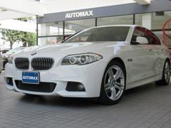 BMW523iエクスクルーシブスポーツ ブラウンレザー 右H