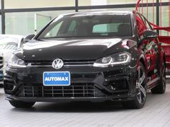 VW ゴルフR1オーナー 黒革 LEDライト ディスカバープロパッケージ