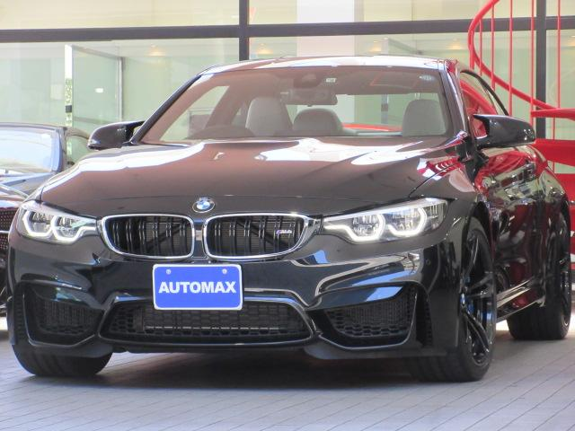 BMW M4クーペ MDCTドライブロジック 右H ブラックレザー